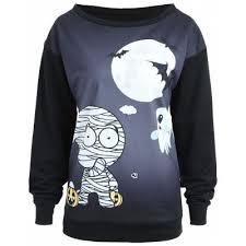 halloween sweatshirt online for sale gearbest com