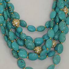 real turquoise necklace images Necklaces palm beach blesk jewelry jpg