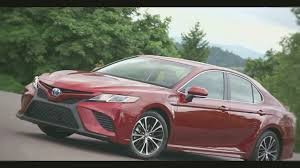 toyota amerika 2018 toyota camry test drive exterior and interior youtube