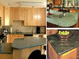 granite countertop kitchen cabinet doors oak terra cotta