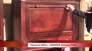 howard miller wine and bar cabinet 690006 seneca falls youtube