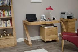 Designer Computer Desks Designer Solid Oak Small Computer Desk Office And