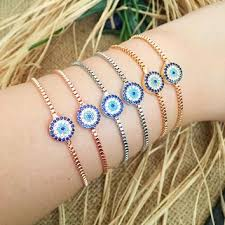 charm bracelet with evil eye images Best evil eye charm bracelet products on wanelo jpg