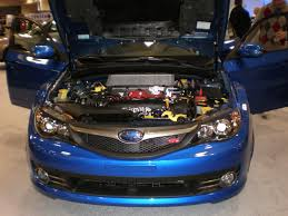 File 2009 Blue Subaru Impreza Wrx Sti Engine Jpg Wikimedia Commons