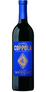 francis coppola diamond collection francis coppola diamond collection blue label merlot rødvin