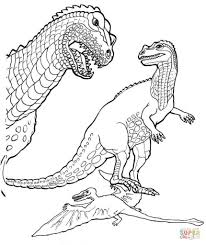 pteranodon coloring pages aecost net aecost net
