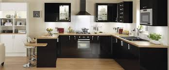 black gloss kitchen ideas kitchen cabinets ideas black shiny kitchen cabinets inspiring