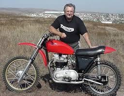 triumph motocross bike dont ask dirt bike q a with rick quot super hunky quot sieman