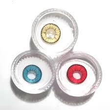 where to find colored contacts for halloween 1 pair women coloured lenses crazy color contacts halloween big