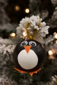 diy penguin ornaments a little craft in your day
