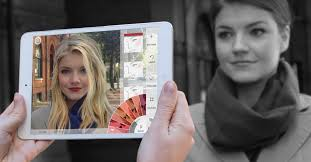 Try On Hair Color App Augmented Reality For Trying On Makeup Is A Booming Business