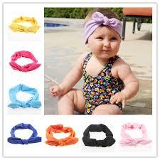 headband baby murah aliexpress beli baru gadis katun top knot headband headwrap