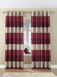 Purple And Cream Striped Curtains Brazil Red Beige Cream Striped Faux Silk Lined Ring Top 66
