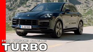 2018 4 door porsche 2018 porsche cayenne turbo youtube