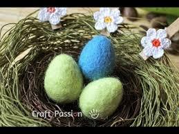 felted easter eggs felting easter eggs