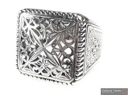large silver rings images Gerochristo 2565 sterling silver medieval byzantine large jpg