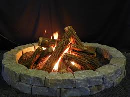 fire pits ideas simple perfect ceramic logs for gas fire pit