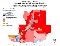 Map Of Election Results by Solano County Election Results And Files