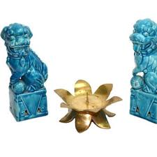 turquoise foo dogs for sale best foo dog statues products on wanelo