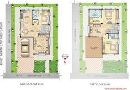 east facing duplex house floor plans 40 x 40 duplex house plans duplex floor plans indian duplex house