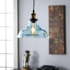 aqua glass pendant light aqua glass pendant light lesgavroches co
