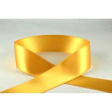 gold satin ribbon gold satin ribbon 3mm x 1m