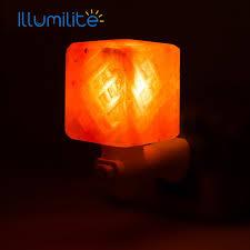 crystal plug in night light natural himalayan wall salt night light nursery l mosaic shape