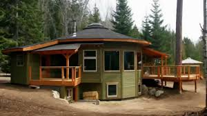 icf cabin mandala round prefab is bc u0027s first energy star qualified home