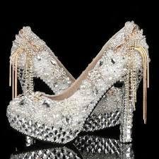 wedding shoes rhinestones women s luxury wedding shoes rhinestone bow bridal shoes