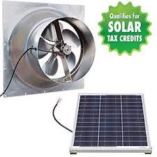 solar attic vent fan gable mount solar attic fan