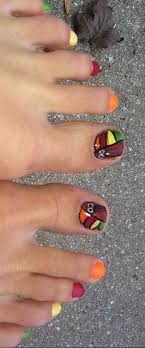 14 best thanksgiving toe nails images on toe nail