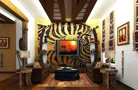 leopard decor for living room animal print living room decorating ideas chic design home decor