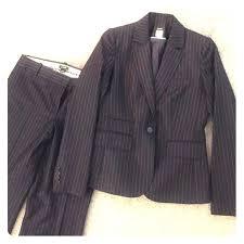 89 off j crew jackets u0026 blazers j crew navy pinstripe women u0027s