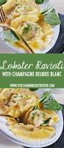 Beurre Blanc Sauce Recipe by Lobster Ravioli With Champagne Beurre Blanc The Charming Detroiter