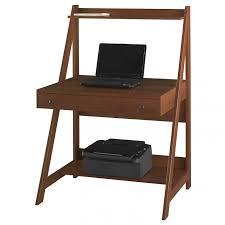 Small Computer Printer Table Creative Modern Ladder Desk Design For Small Room Homesfeed