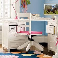 Desk For Corner Beadboard Smart Corner Desk Pbteen