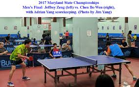 maryland table tennis center 2017 maryland state chionships