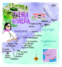 French Riviera Map Map Côté D U0027azur Where To Go Pinterest Maps