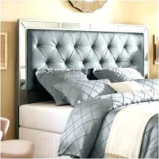 King Size Padded Headboard Tufted Bed Frame Adjustable Button Tufted