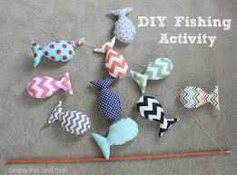 simply this and that diy fishing activity kids stuff