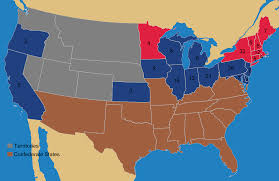 Map Of United States During Civil War by United States Presidential Election 1936 Wikipedia What Election