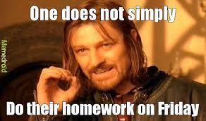 Homework Meme - homework meme by disturbed 1 memedroid