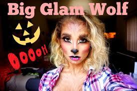 Werewolf Halloween Makeup by The Big Glam Wolf Halloween Tutorial Nicol Concilio Youtube