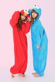 Cookie Monster Halloween Costume Adults Sesame Street Elmo Cookie Monster Costume Romper Costume