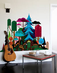 Forest Nursery Wall Decals by Imaginary Forest Wall Decal U2013 Blik
