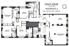 4 bedroom condos philip house 141 east 88th street carnegie hill condos for sale