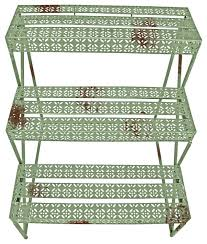 industrial heritage etagere rectangular farmhouse plant stands