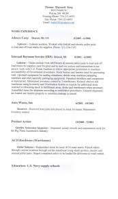 100 laborer resume template what to write in the objective