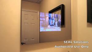 tv in the mirror bathroom seal solutions bathroom mirror tv youtube