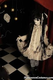 10 Scariest Halloween Costumes 25 Creepy Doll Costume Ideas Creepy Doll